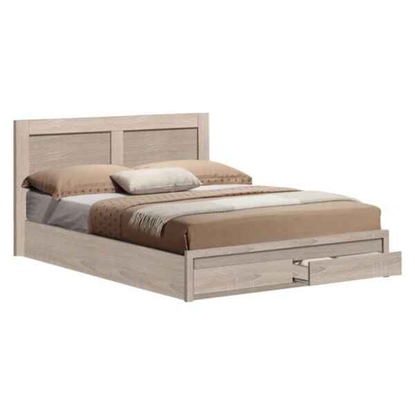 Спалня Капри с чекмеджета- цвят сонама160/200см