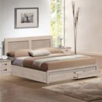 Спалня Капри с чекмеджета цвят сонама