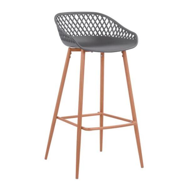 Полипропиленов сив стол с метални крака Avaya
