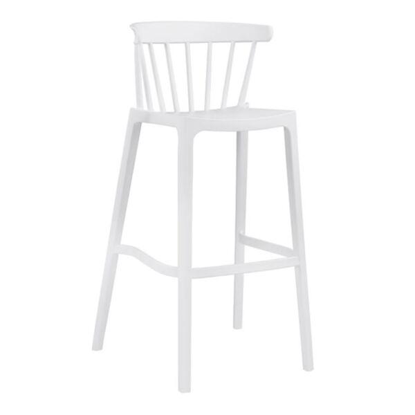 Полипропиленов стол Nazia бяло