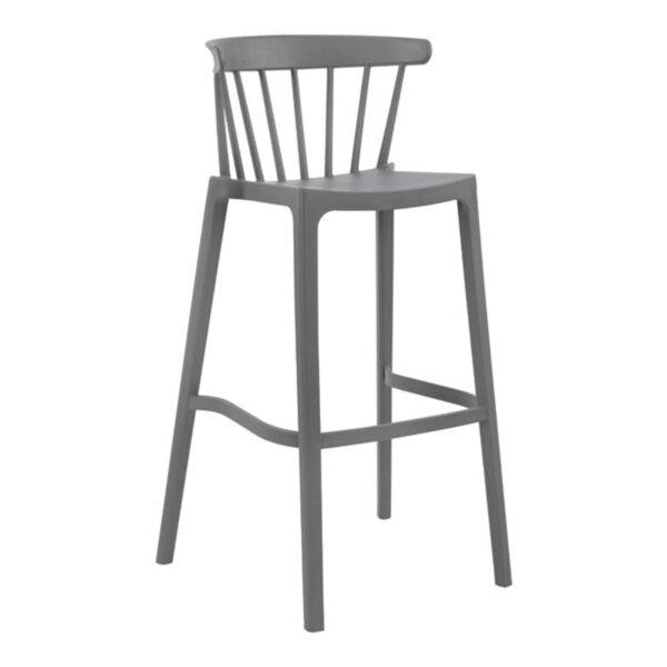 Полипропиленов стол Nazia сив