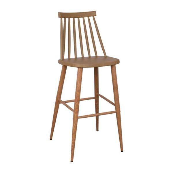 Бар стол Ванеса в Капучино цвят