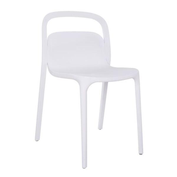 Полипропиленов стол Елън - бял