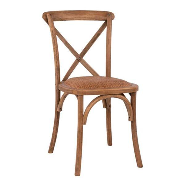 Дървен стол Forenza мат