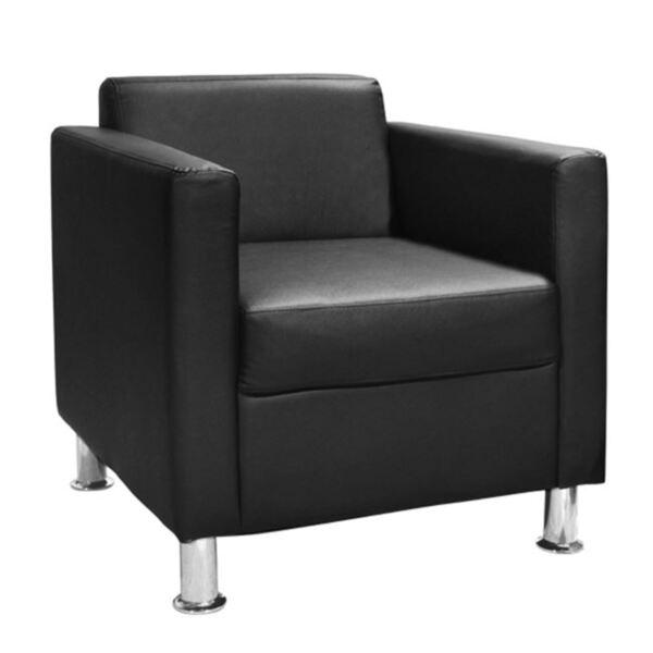 Кресло Cubo PU в черно