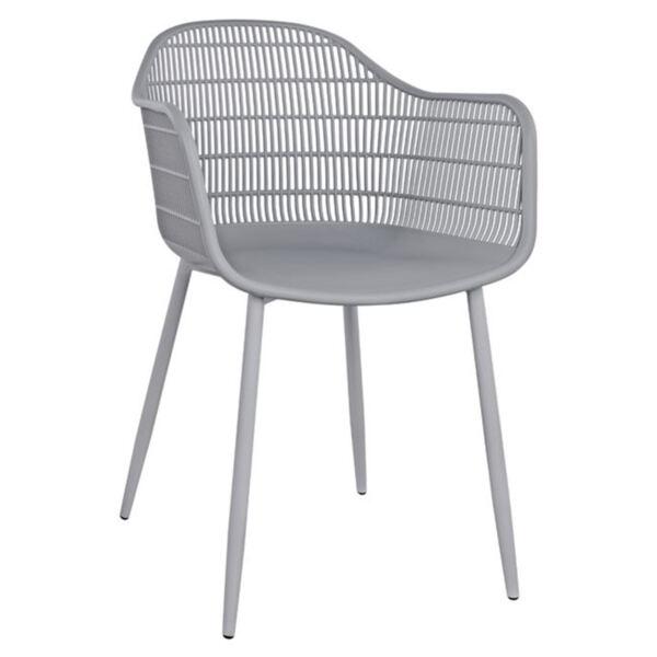 Полипропиленов стол Ади в сив цвят