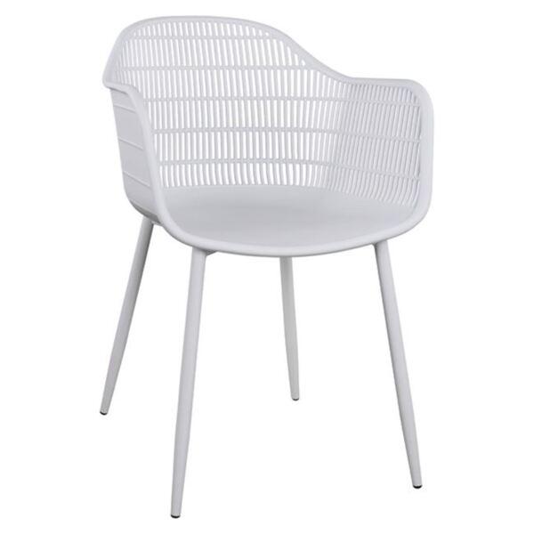 Полипропиленово кресло Ади в бяло