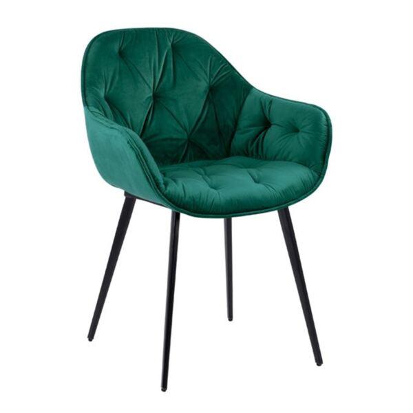 Кресло Витания от - зелено кадифе
