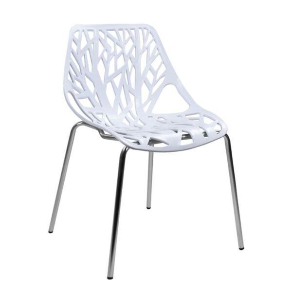 Полипропиленов стол Елза с бяла седалка