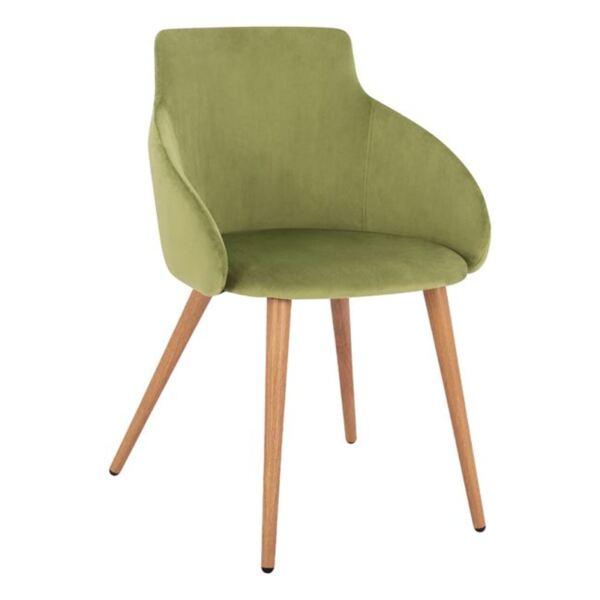 Стол Ivy Olive с метални крака