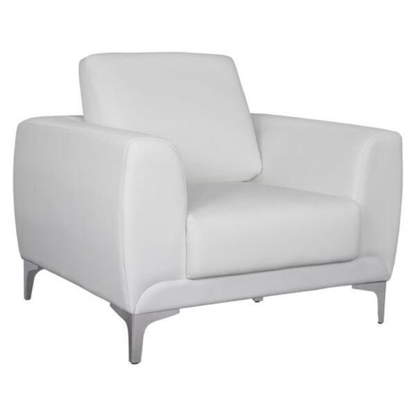 Кресло Kenzie Бял PU