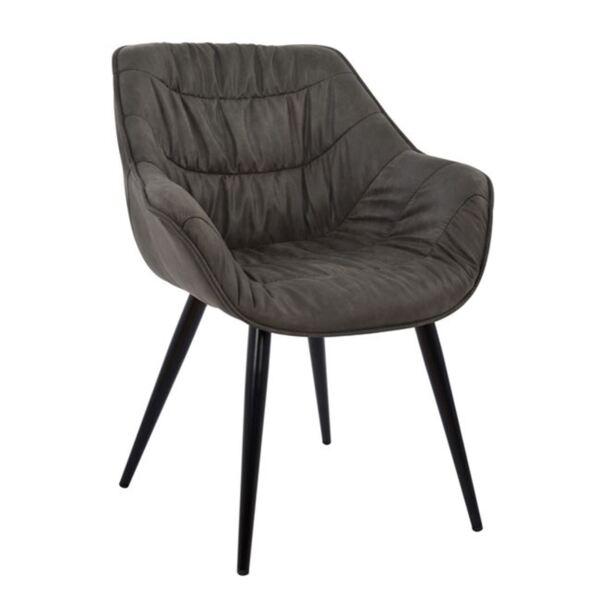 Стол със сив плат