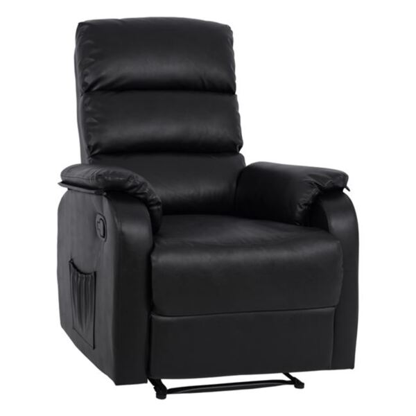 Кресло Comfort с Релакс механизъм в черен цвят