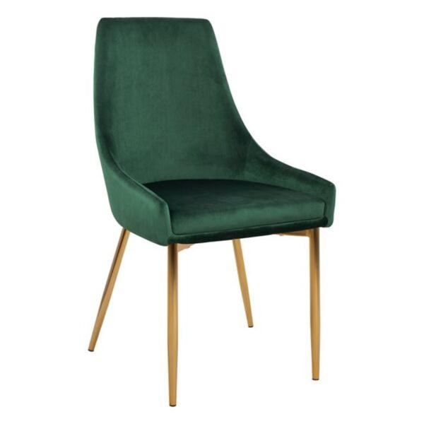Стол Dakota зелено кадифе