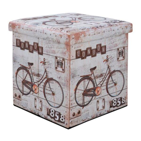 Стол от PU с пространство за съхранение Bike