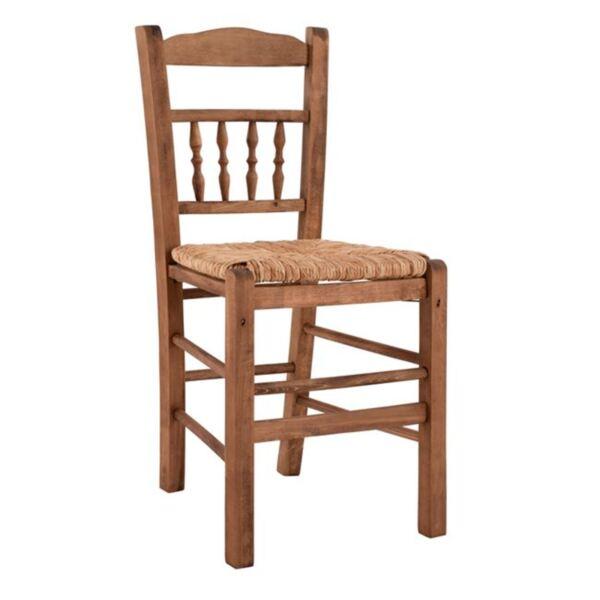 Стол със слама - Орех