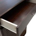 Шкаф за обувки Sante   в цвят  орех 80x37x123 см