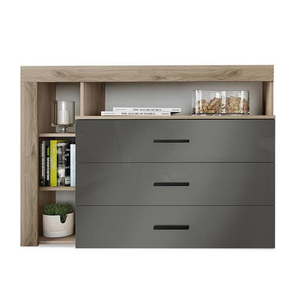 Шкаф Cute  в цвят дъб 120x43x89 см
