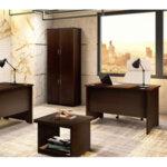 Офис бюро  Amazon  орех 120x75x75 см
