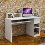 Офис бюро Mur  в бял цвят 120x55x93.5 см