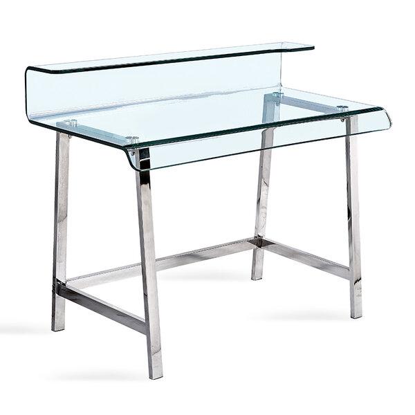 Офис бюро Vision със стъкло 12мм  110x56x90 см