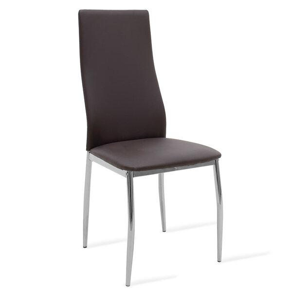 Полиуретанов стол Jella в кафяво