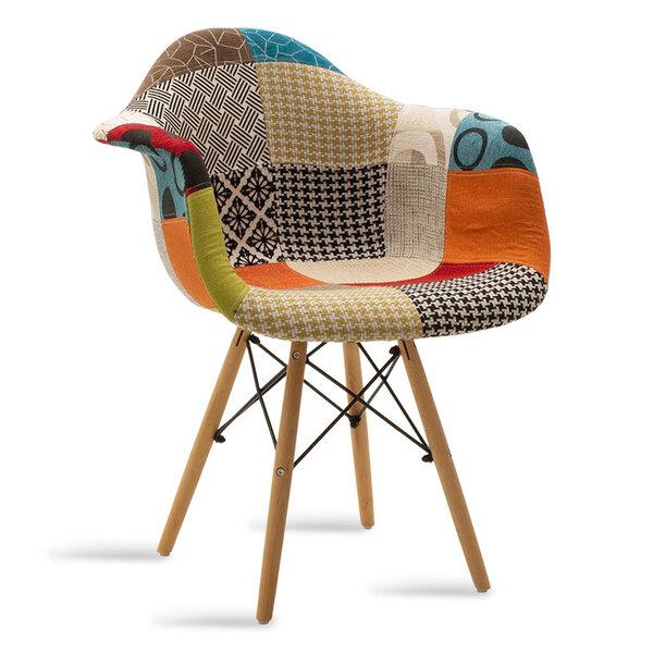 Полипропиленово кресло Юлита - мозайка