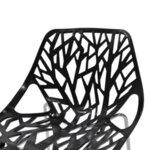 Пропиленов стол Mare  в черен цвят