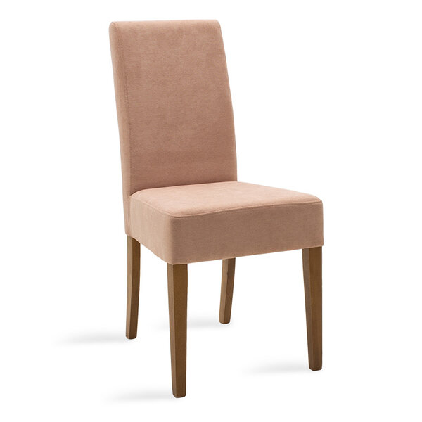 Дървен стол Ditta - шампанско