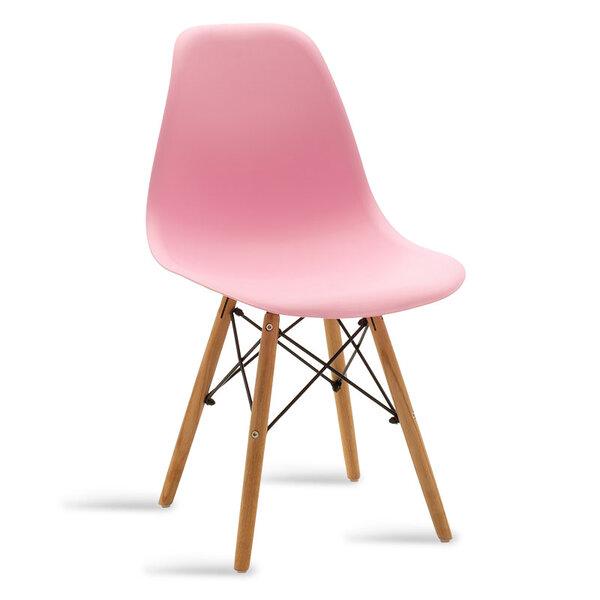 Полипропиленов стол Юлита в розово