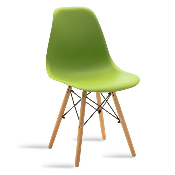 Полипропиленов стол Юлита в зелено
