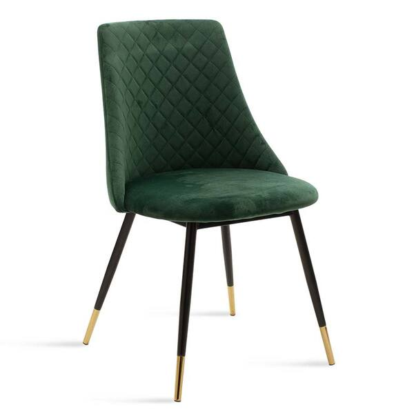 Стол Жизел - зелено кадифе