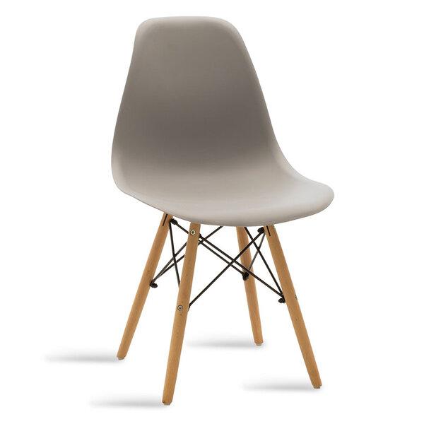 Полипропиленов стол Юлита в сив цвят