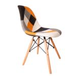 Трапезен стол Иви пачуърк /портокал
