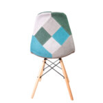 Трапезен стол Иви пачуърк /зелен