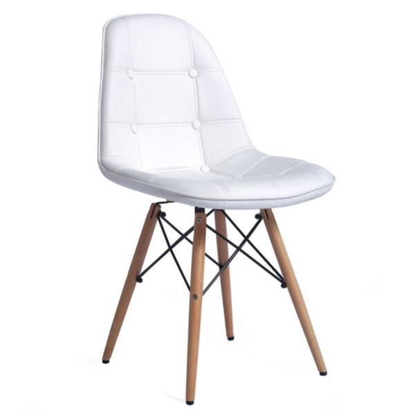 Трапезен стол Таня/бял