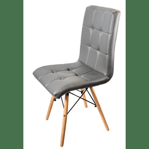 Трапезен стол Кари /сив