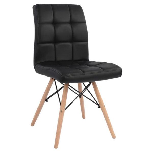 Трапезен стол Кари/черен