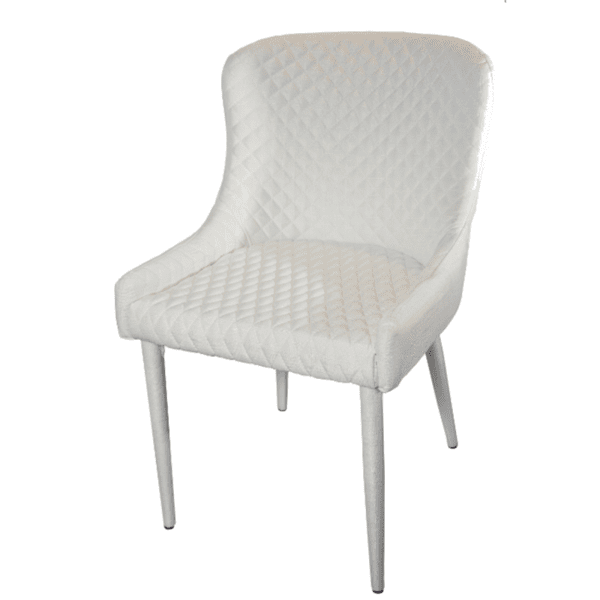 Трапезен стол Флори /бял