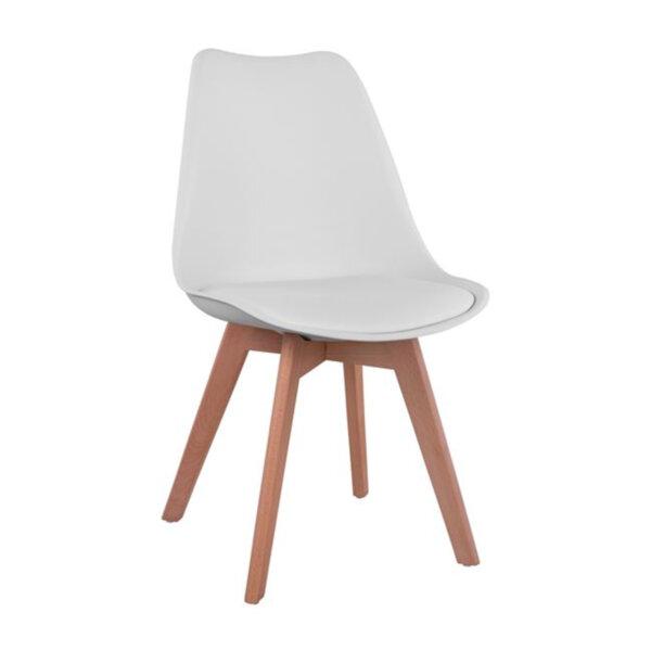 Трапезен стол Верона/бял