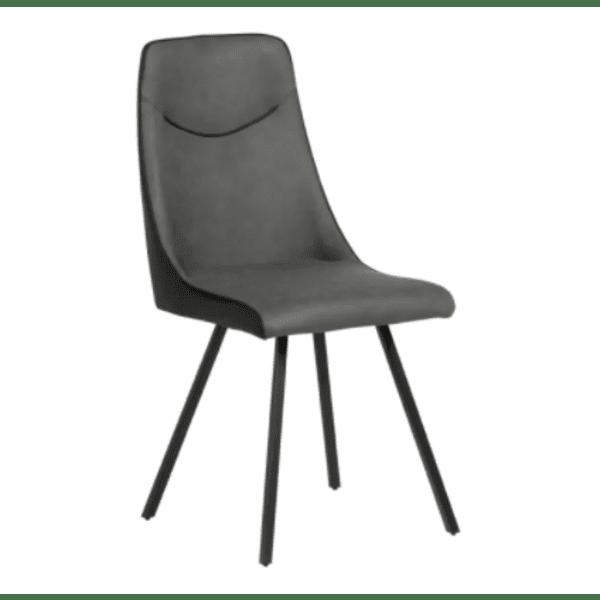 Трапезен стол MALTON - тъмносив SF 2