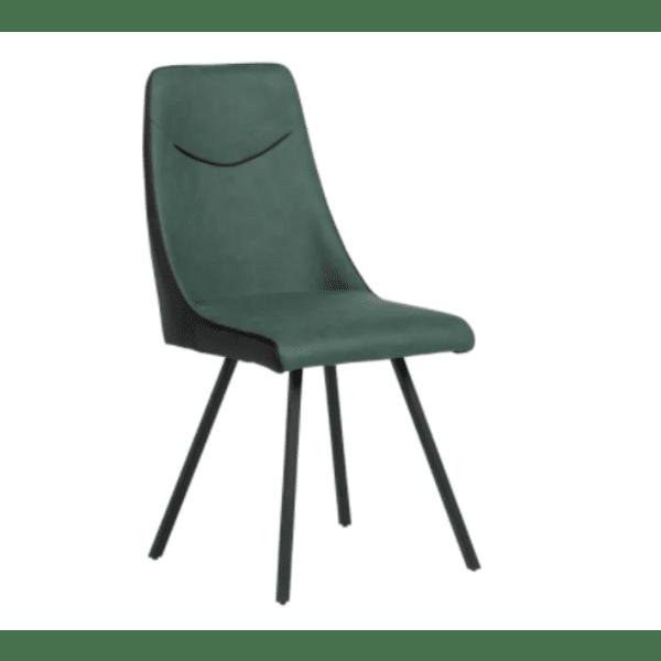 Трапезен стол MALTON - тъмнозелен SF 2