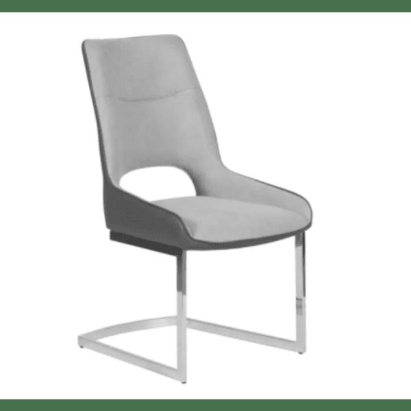 Трапезен стол ALASKA - светло сив UF 2