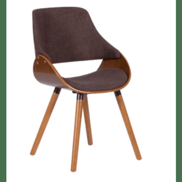 Трапезен стол Carmen 9973 - орех / кафяв