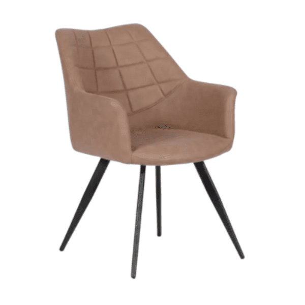 Трапезен стол FILTON - тъмнобежов SF 2