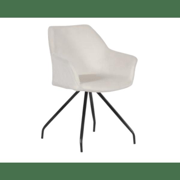 Трапезен стол KENDAL - бял BF 2