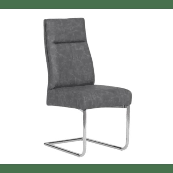 Трапезен стол PRESTON - сив BS 1