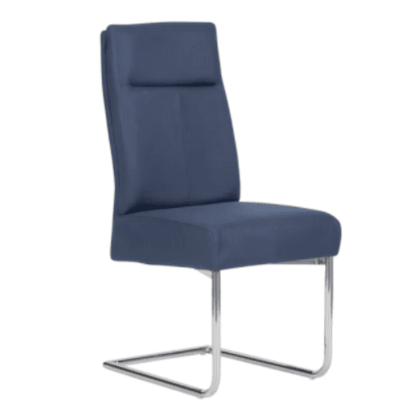 Трапезен стол PRESTON - тъмносин SF 1