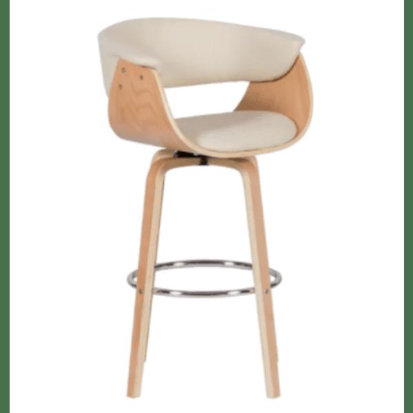 Бар стол Carmen 4040 - бук / крем