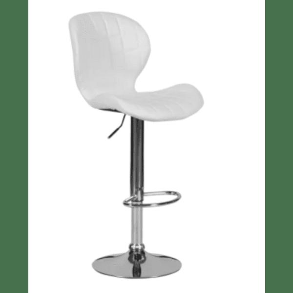 Бар стол Carmen 4055 - бял